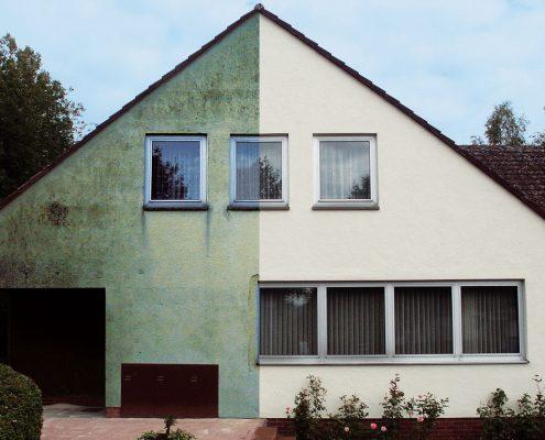Gebäudesanierung, Fassadenschutz