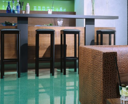 Bodenbeschichtung Wohnraum Gaststätten