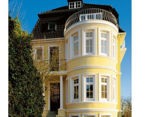 Gebäudesanierung, Fassadenschutz, Gerüst
